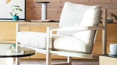 Chiara Lounge Chair - Fabric | EQ3 Modern Furniture