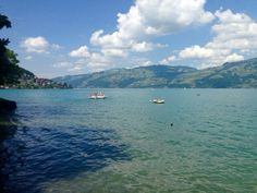 See 1 photo from 10 visitors to Faulensee. Thun Switzerland, Lake Thun, Four Square, River, Beach, Outdoor, Outdoors, The Beach, Beaches