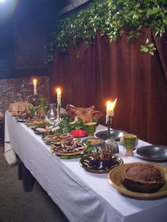 medieval scottish feast - Google Search