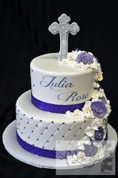 Confirmation Cakes For Girls | Communion Cake2