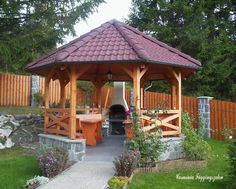 Pergola With Glass Roof Refferal: 3264736914 Gazebo Roof, Screened Gazebo, Backyard Gazebo, Pergola Garden, Pergola Swing, Backyard Retreat, Pergola Shade, Pergola Kits, Pergola Ideas