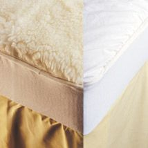 A fully fitted, double-sided and reversible woollen underlay. In winter feel the natural benefits with the warm and comforting wool pile facing up, then reverse in summer to the japara/quilted side for a cool and soothing night's sleep. Lorraine, Comforters, Cool Things To Buy, Sleep, Warm, Cool Stuff, Natural, Bed, Winter
