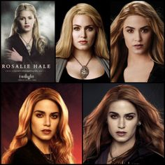 """Rosalie From Twilight"""" to """"Breaking Dawn Part 2"""" <3"""