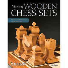 Making Wooden Chess Sets Book - Rockler.com
