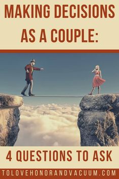 How do you make decisions as a couple when those decisions seem destined to pull you apart? #coupledecisionmaking #howtomakedecisionstips #decisionmakingprocess #toughdecisions #whereisGod #seekingGodfirst #resolvingconflict #ToLoveHonorandVacuum via @sheilagregoire Marriage Romance, Good Marriage, Marriage Advice, Successful Marriage, Real Relationships, Marriage Relationship, Album Design, Reasons To Get Married, Passionate Couples
