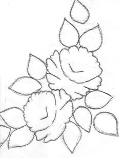 Pintura Em Tecido - Venha Aprender Pintura em Tecido: Galeria de Rosas