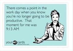 hehehe ;) totally somedays, and I'm a stay at home mom....happens to all of us!!!