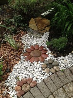 Rock garden art rock garden art learning how to design a rock garden will arm rock garden art, north bay, ontario. 234 likes · 10 talking about this. rock garden art is a custom artwork business by kendra dumont. my main focus is. Landscaping With Rocks, Front Yard Landscaping, Backyard Landscaping, Landscaping Ideas, Walkway Ideas, Backyard Ideas, Sloped Backyard, Backyard Designs, Diy Garden Projects