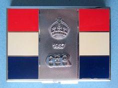 1937 KING GEORGE VI Coronation Powder