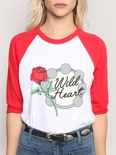 Wild Heart Raglan Tee - Gypsy Warrior