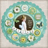 A Project by Digikiwichick from our Scrapbooking Gallery originally submitted 11/16/12 at 08:31 PM