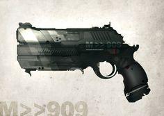 GUN speed paint M 909 by torvenius.deviantart.com on @deviantART