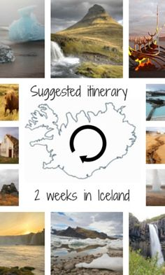 Iceland - Suggested itinerary for a 2 week big loop self drive around Iceland