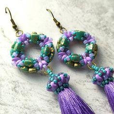 Tomoe earrings   Matubo