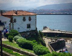 Etxetxu un precioso edificio del Puerto Viejo de Getxo