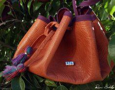 Brwon bag by Reme Botella