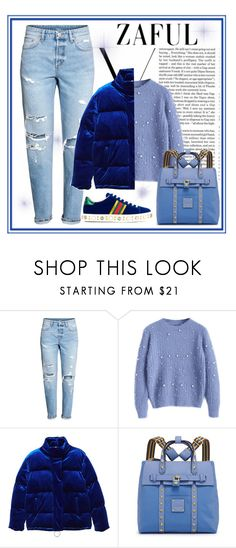 """""""Zaful contest"""" by krista-zou on Polyvore featuring H&M, Victoria Beckham, MANGO, Henri Bendel and Gucci"""