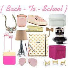 """Pretti Please Blog   Back To School Set   www.prettipleaseblog.com"" by jacqueline-andrews-bridgford on Polyvore // http://prettipleaseblog.com/2014/08/14/back-to-school-favorites/"