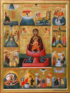 Portretul iconarului în tinerețe: Ioan Popa | PEMPTOUSIA Byzantine Icons, Byzantine Art, Religious Icons, Religious Art, Greek Icons, Colonial Art, Religious Paintings, Blessed Mother Mary, Best Icons