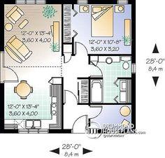 Casa plan W2180