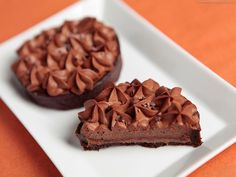 Tartelette chocolat noir et praliné feuilleté