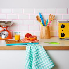 Colorful Grout Is a Thing and It's Ah-mazing | Brit + Co