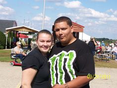 My Grandson Daryl and his fiance Carmen