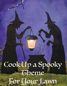 Scary Witch Yard Decor