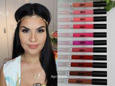Adara Paris Longlasting Liquid lipstick Demo   Mytzi Cervantes