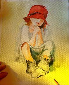 """RT @itasarimmerkezi: İstanbul Tasarım Merkezi'nde"""" Ahmet Öğreten ile Suluboya Atölyesi"""" devam ediyor.  #suluboya #kurs #resim #ders #sanat #art #neyapsak #tasarim   #pen #pencil #instaart #beautiful #creative #photooftheday #artoftheday #İstanbul #istanbultasarimmerkezi #istanbuldesigncenter #itm https://t.co/nDv08J4Ull"""