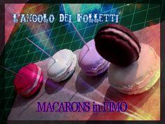 TUTORIAL #2 - MACARONS FIMO by L'Angolo dei Folletti
