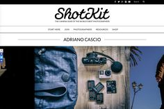 La mia borsa fotografica su Shotkit – Adriano Cascio