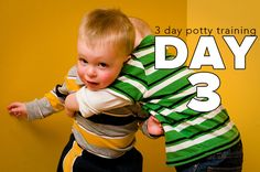 On day 3 you can take your child outside of the house, but only after peeing. This is to make sure you have plenty of time to get back to the potty before he needs to go again, but it also teaches him that he needs to pee before going out. If you've approached the 3 day […]