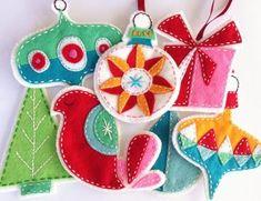 38 Original Felt Ornaments Decoration Ideas For Your Christmas Tree 23