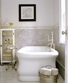 Planning our DIY bathroom renovation. Vintage and antique bath inspiration. Bad Inspiration, Bathroom Inspiration, Bathroom Ideas, Bath Ideas, Bathroom Remodeling, Shower Ideas, Dream Bathrooms, Beautiful Bathrooms, Country Bathrooms