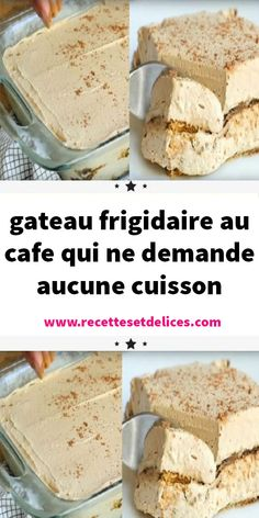 gateau-frigidaire-au-cafe-qui-ne-demande-aucune-cuisson/ delivers online tools that help you to stay in control of your personal information and protect your online privacy. Desserts Rafraîchissants, Banana Dessert Recipes, Mini Cheesecake Recipes, Snack Recipes, Easy Recipes, Gentilly Cake Recipe, Rumchata Recipes, Dessert Parfait, Refreshing Desserts