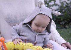 How adorable is Duke's bunny hoodie? #GandB