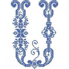 French Cross Stitch Alphabet   Embroidery Stash