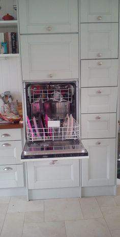 raised dishwasher - no more bending