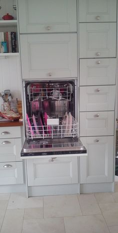 raised dishwasher - no more bending