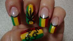 Reggae Baby - Nail Art Gallery by NAILS Magazine #nailart