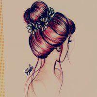 Bunhead Hair by DebbyArts