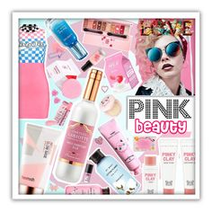 """""""Sweet pink"""" by beanpod ❤ liked on Polyvore featuring artless, Etude House, Innisfree, JINsoon, TONYMOLY, SkinCare, Holika Holika, Touch in Sol, Luna Skye and Waterford"""