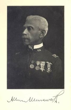 Allen Allensworth (7 April 1842 – 14 September 1914), born into slavery, escaped and became a Union soldier; later he became a Baptist minister and educator, and was appointed as a chaplain in the United States Army. He served as the only black delegate from Kentucky in the Republican National Conventions. In 1886 he gained an appointment as a military chaplain to a unit of Buffalo Soldiers.