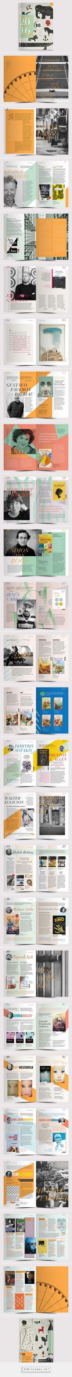 Delidolu Yayın Kataloğu 2016 on Behance, designed by Burak Tuna - created via http://pinthemall.net