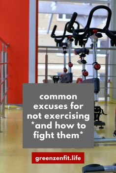 Fighting excuses for