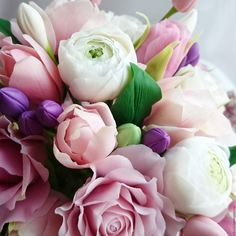 """ручной работы. Чашечка """"50 оттенков розового """". Victoria Flowers (Виктория Зверева). Интернет-магазин Ярмарка Мастеров. Розовый"""
