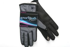 Gray Isotoner smarTouch Gloves for Women