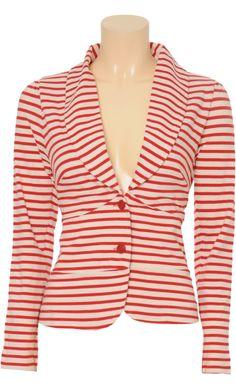 King Louie - Smoking jacket Breton stripe