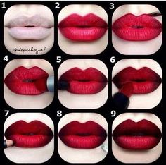 How to make your lips look fuller .
